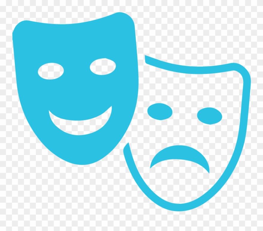 Clipart acting clip transparent stock Entertainment - Acting Masks Clipart (#746990) - PinClipart clip transparent stock