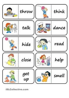 Clipart actions in english clip transparent download 74 Best Actions Words images in 2019 | Teaching english, English ... clip transparent download