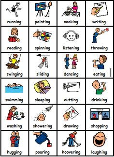 Clipart actions in english picture library library 101 Best daily activities images in 2016 | Teaching english, English ... picture library library