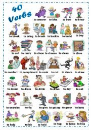 Irregular verbs clipart picture freeuse download Free Verbs Cliparts, Download Free Clip Art, Free Clip Art on ... picture freeuse download