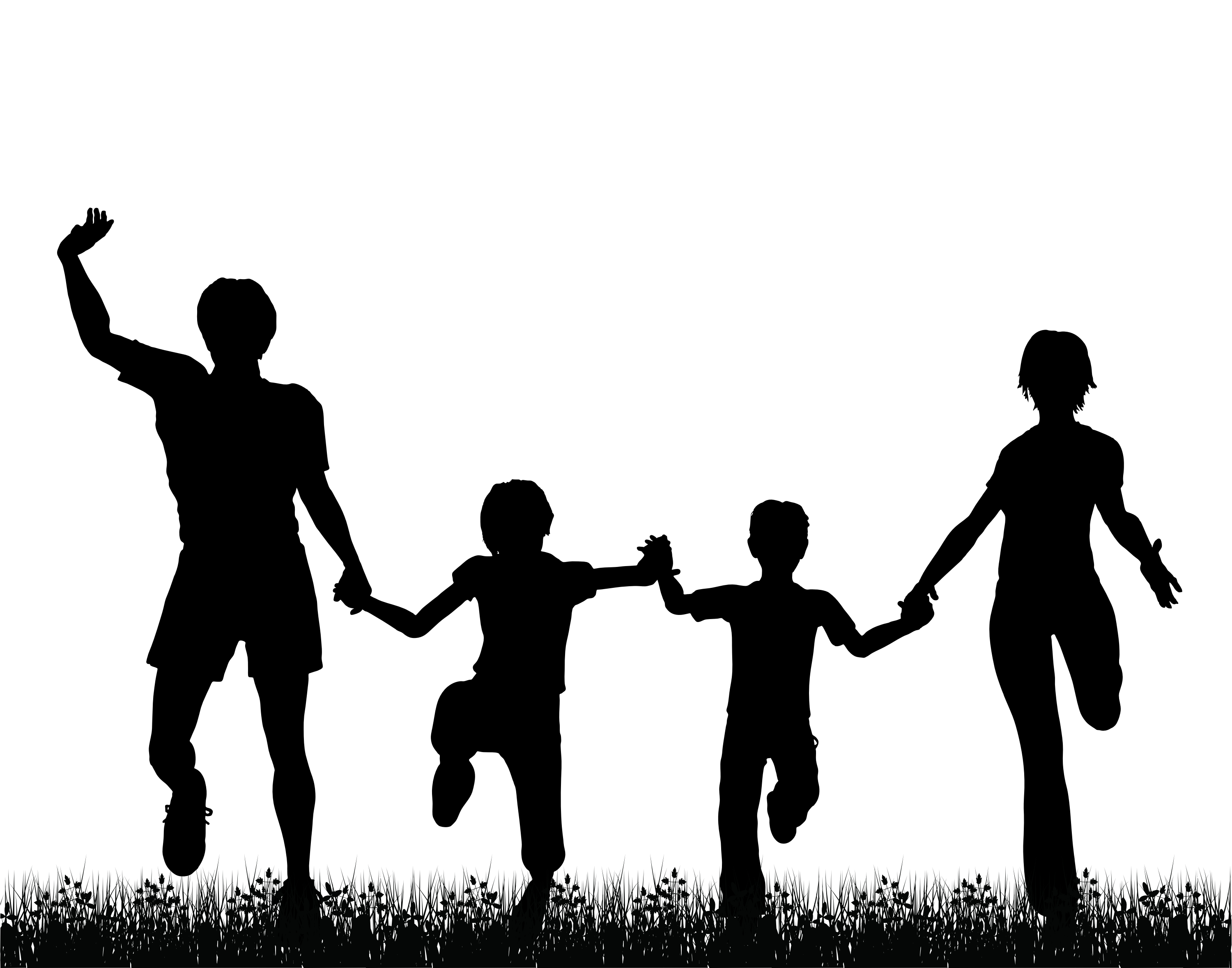 Clipart active family picture black and white library Family Day - Clip Art Library picture black and white library