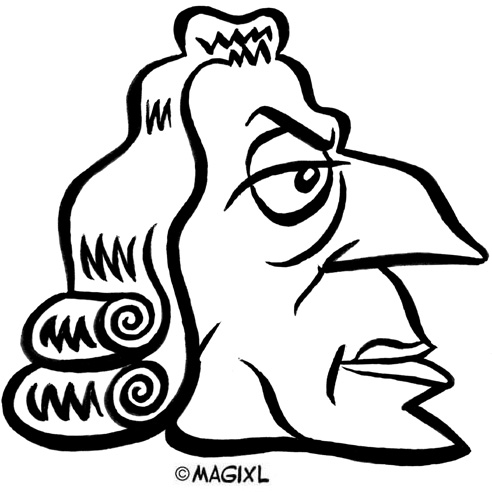 Clipart adam smith image freeuse Caricatures of Writers image freeuse
