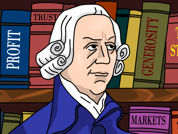 Clipart adam smith vector freeuse library Time Zone X: Adam Smith - GameUp - BrainPOP. vector freeuse library