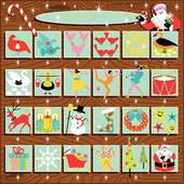 Clipart advent calendar clip art library Advent Calendar Clip Art - Royalty Free - GoGraph clip art library