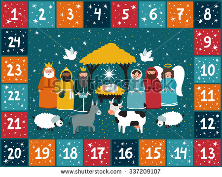 Clipart advent calendar transparent download Christmas Advent Calendar Clipart (33+) transparent download