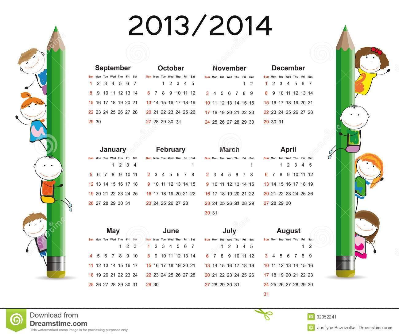 Clipart advent calendar clker banner library Kid Calendar Template. 25 printable new year 2015 calendars. pink ... banner library