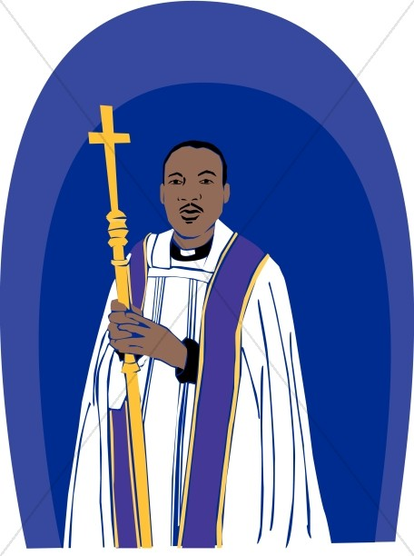 Clipart african american bishop jpg stock African American Priest | Clergy Clipart jpg stock