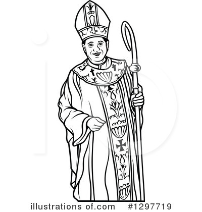 Clipart african american bishop clip royalty free Bishop Clipart #1297719 - Illustration by dero clip royalty free