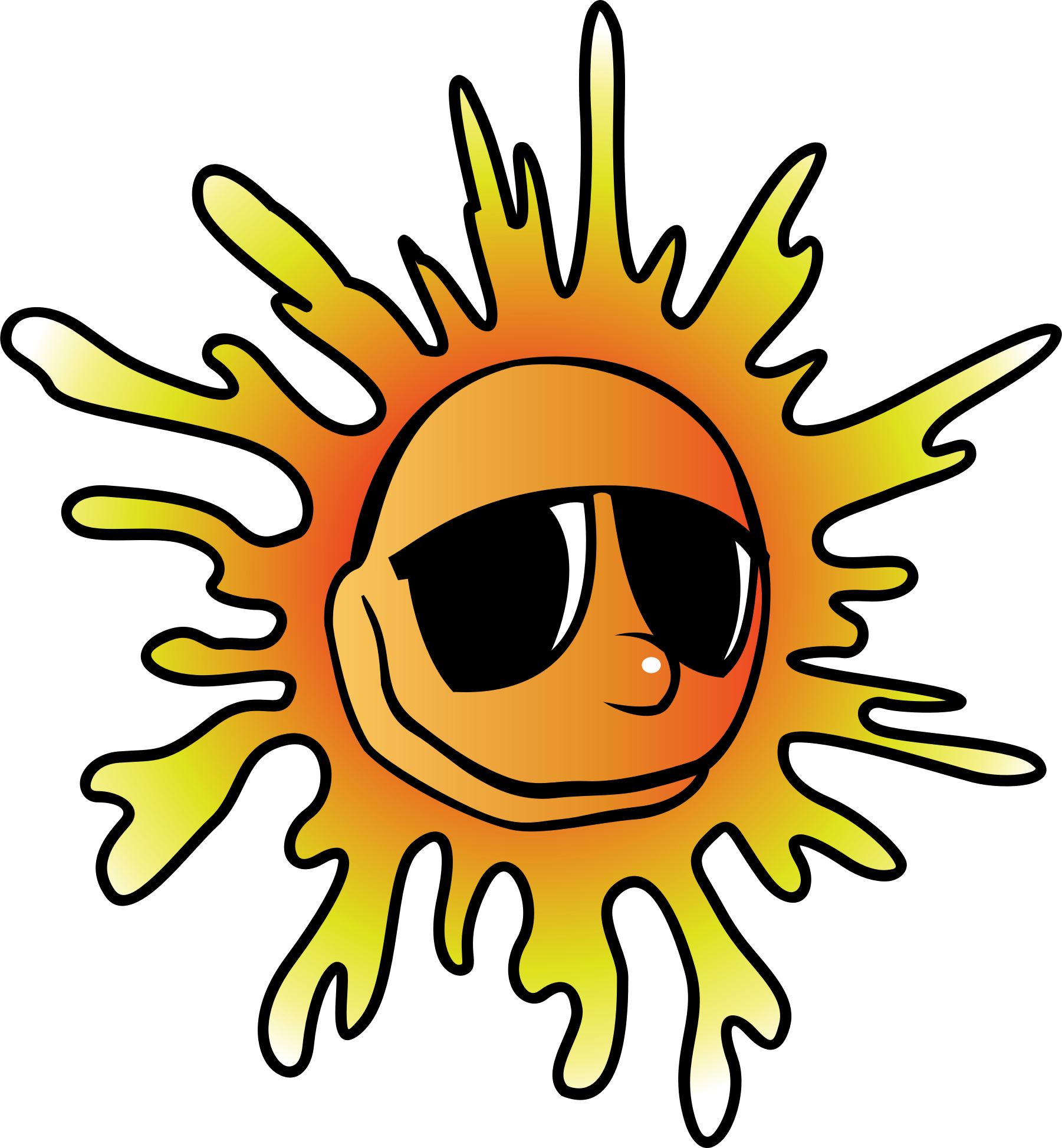 Solar sun clipart vector library Quotes about Sun heat (42 quotes) vector library