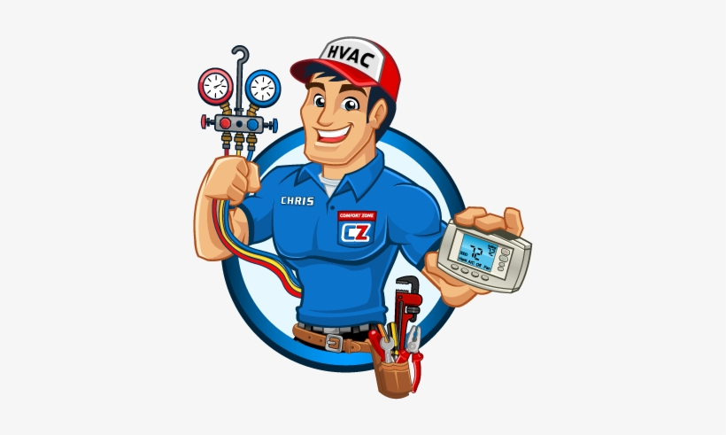 Clipart air services graphic black and white download Air Conditioner Clipart Hvac - Air Conditioner Service Man - Free ... graphic black and white download