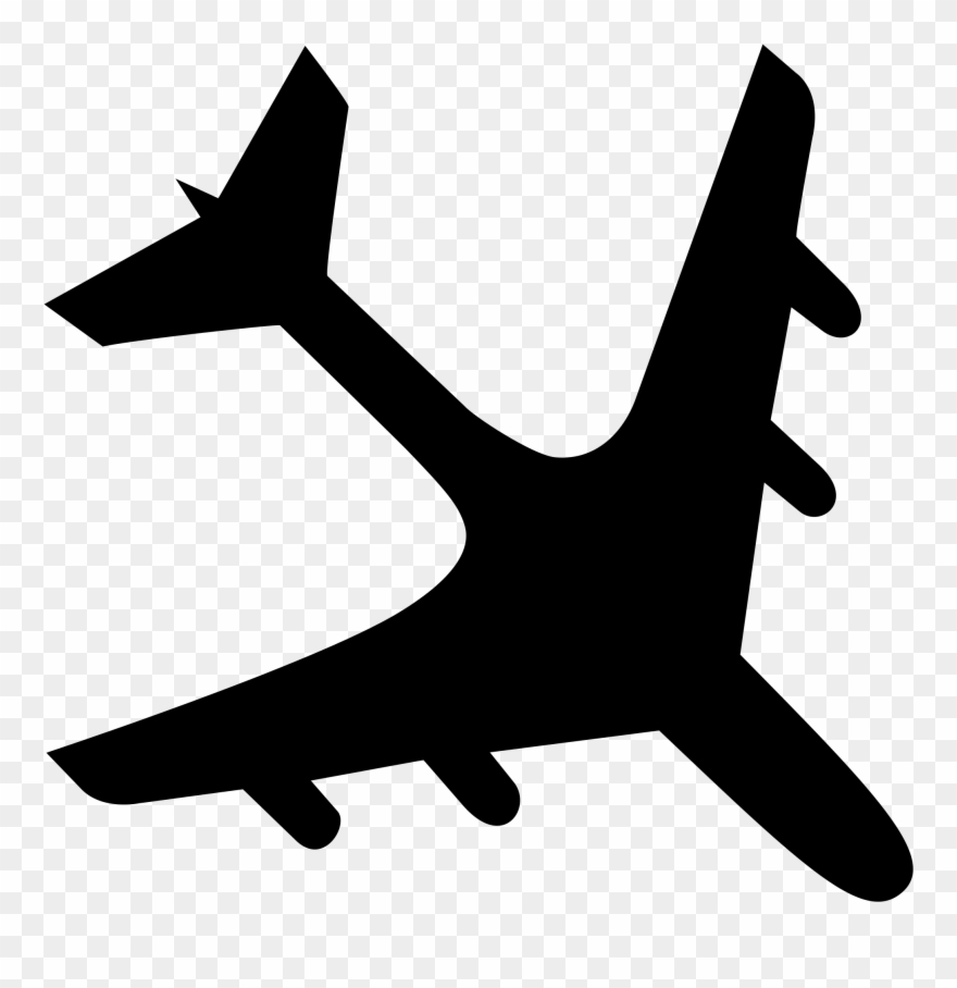 Clipart airlines crash banner freeuse download File Airplane Crash Black Svg Wikimedia Commons Plane - Airplane Svg ... banner freeuse download