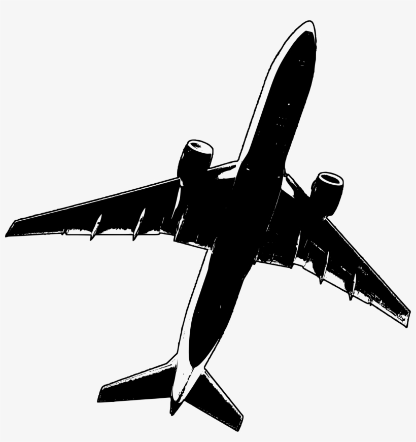 Clipart airlines crash graphic freeuse library Clipart Malaysia Air Mh17 Flight Crash Airplane Outline - Flying ... graphic freeuse library