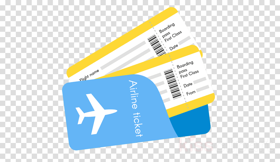 Clipart airplane ticket png library Travel Flight clipart - Airplane, Travel, Yellow, transparent clip art png library