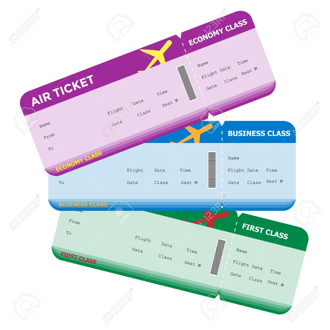 Clipart airplane ticket picture Boarding Pass Clipart | Free download best Boarding Pass Clipart on ... picture