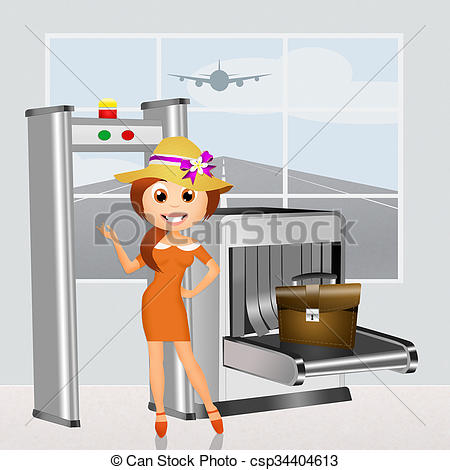 Of check illustration csp. Clipart airport security