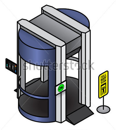 Clipart airport security. Cliparts scanner