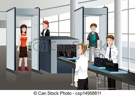 Clipartfest through check . Clipart airport security