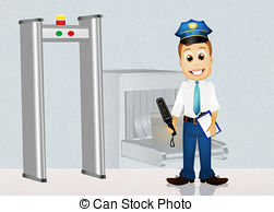 Illustrations and illustration of. Clipart airport security