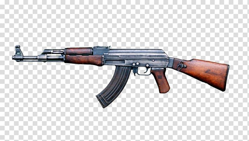 Clipart ak 47 jpg freeuse library AK-47 Weapon Assault rifle Firearm, ak 47 transparent background PNG ... jpg freeuse library
