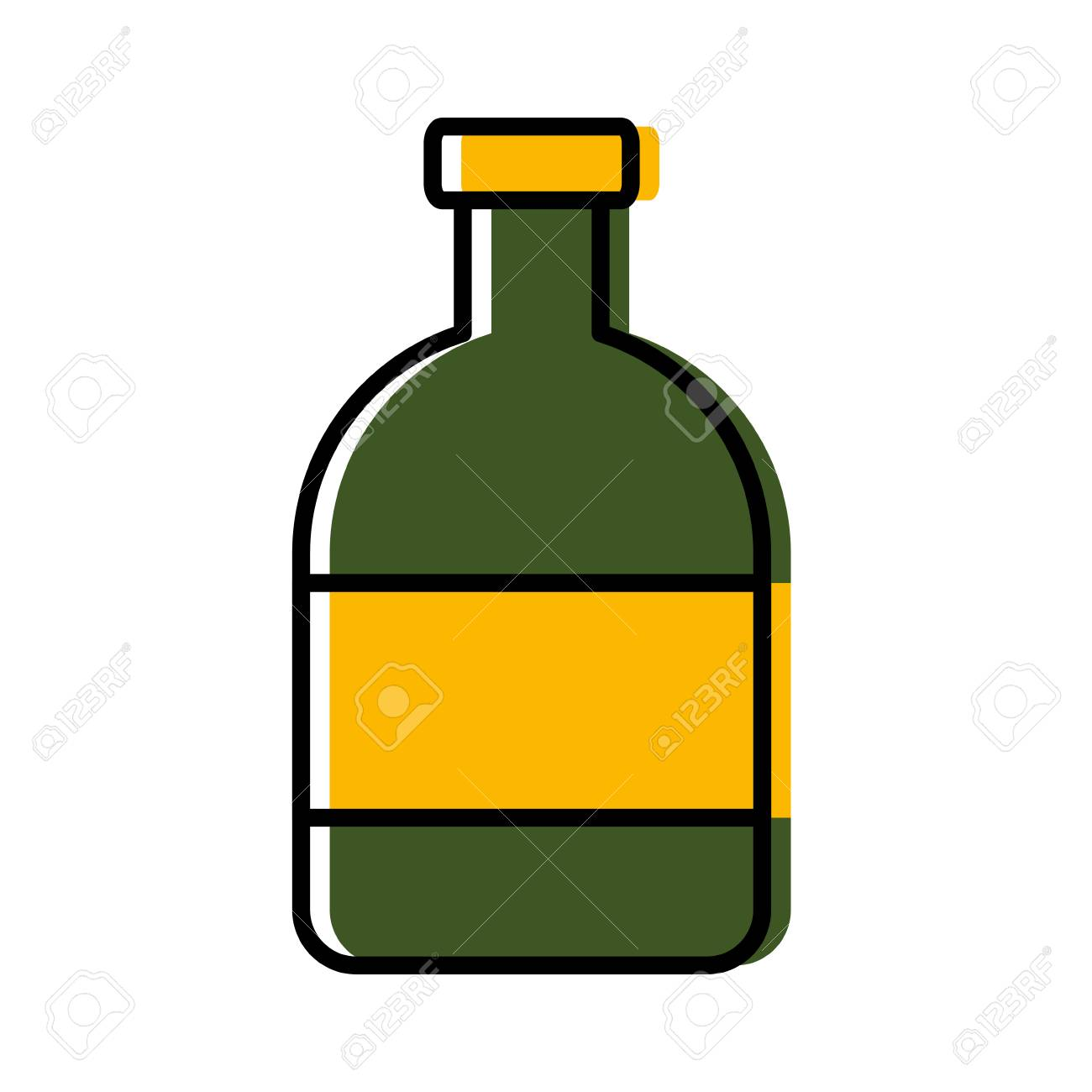 Clipart alcohol bottle vector royalty free library Liquor bottle icon » Clipart Station vector royalty free library