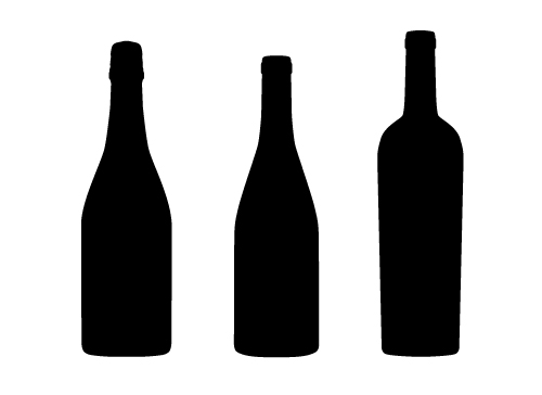 Wine bottle black and white clipart image royalty free download Wine Bottle Black And White | Free download best Wine Bottle Black ... image royalty free download