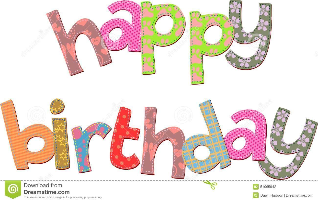 Clipart alles gute zum geburtstag freeuse Alles- Gute Zum Geburtstagtext-Clipart Stock Abbildung - Bild ... freeuse