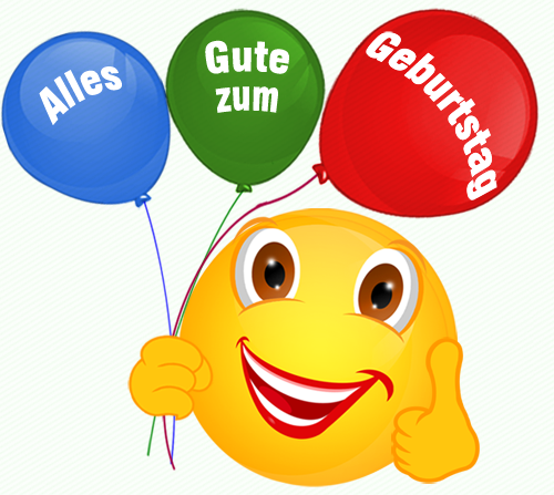 Clipart alles gute zum geburtstag clip art royalty free Smiley – Luftballon – Alles Gute zum Geburtstag-Luftballons « Cliparts clip art royalty free