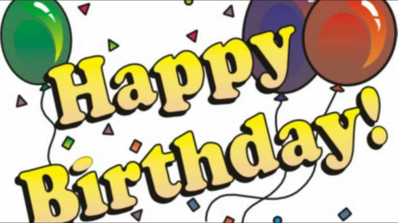 Clipart alles gute zum geburtstag png freeuse Happy Birthday, Lukas! - YouTube png freeuse