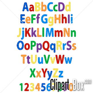 Child royalty free vector. Clipart alphabet