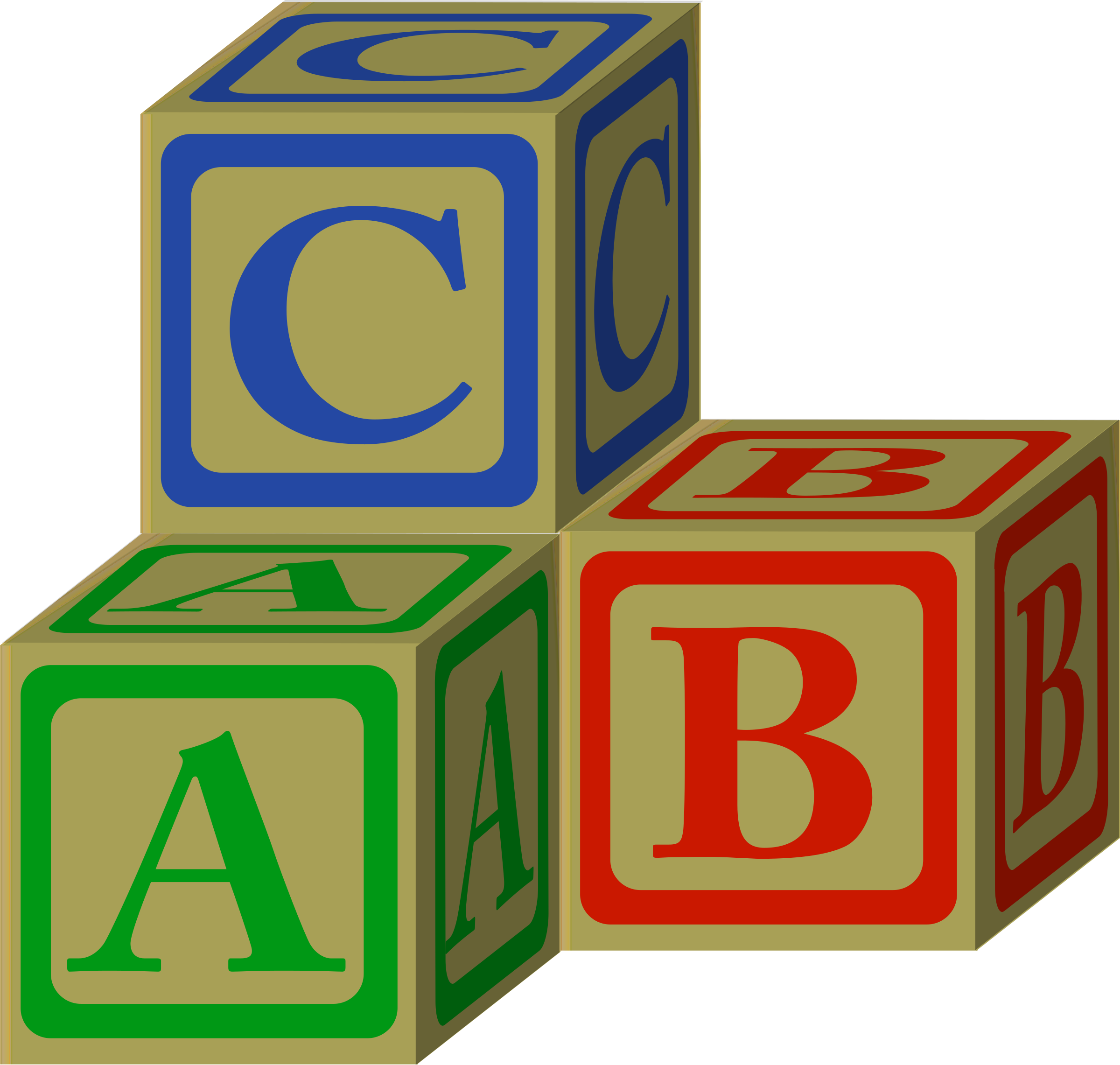 Clipart alphabet blocks png free stock Clipart - abc blocks petri lummema 01 png free stock