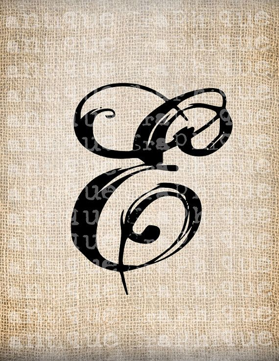 Clipart alphabet letter e on burlap. Clipartfest antique script
