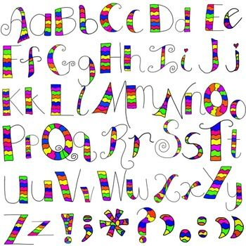 Clipart alphabet letter font jpg black and white 1000+ images about Clip art/ fonts on Pinterest | Typography ... jpg black and white