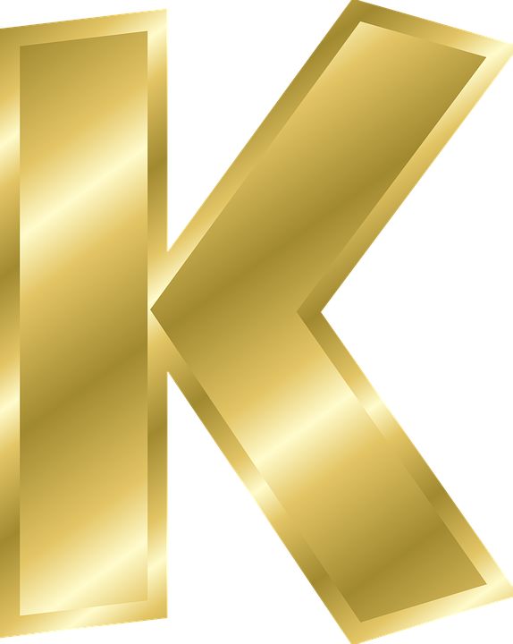Clipart alphabet letter k travel clip transparent stock Free vector graphic: Letter, K, Capital Letter, Alphabet - Free ... clip transparent stock