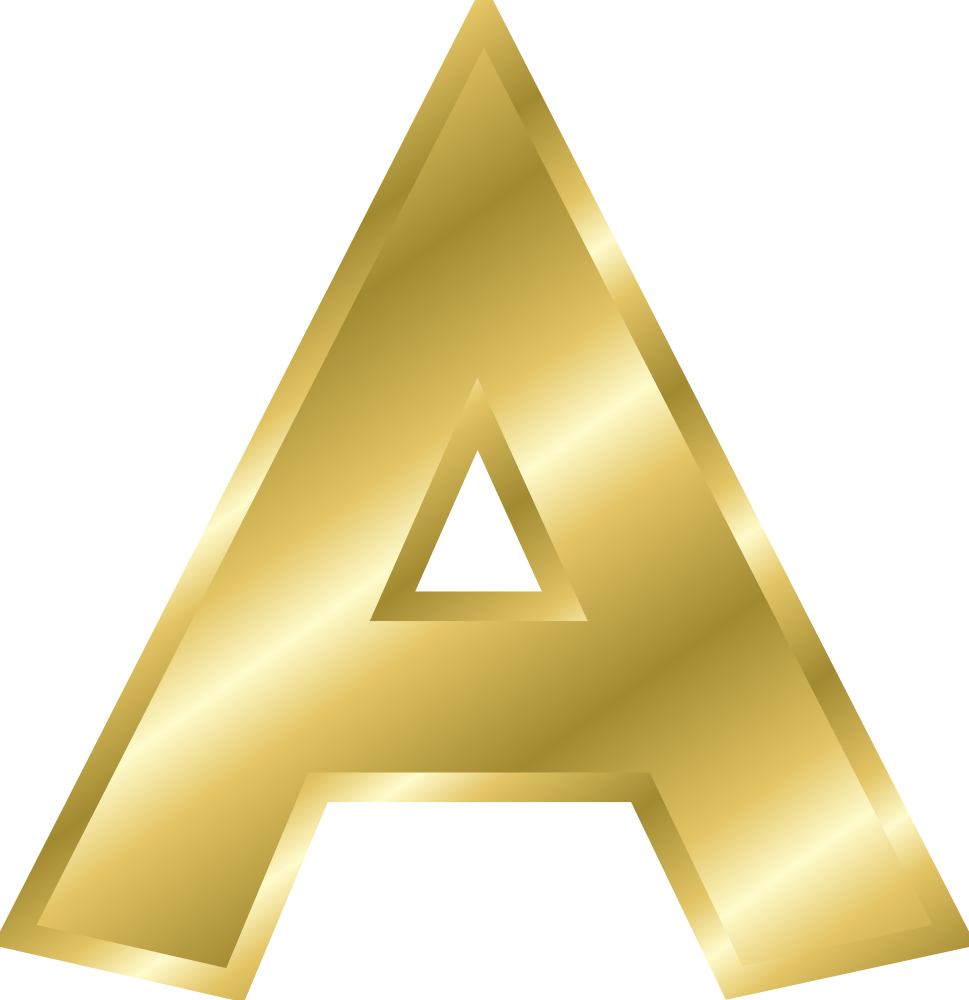 Free clip art letters alphabet picture free library Effect Letters alphabet gold | Online Labels Clip Art | Pinterest ... picture free library