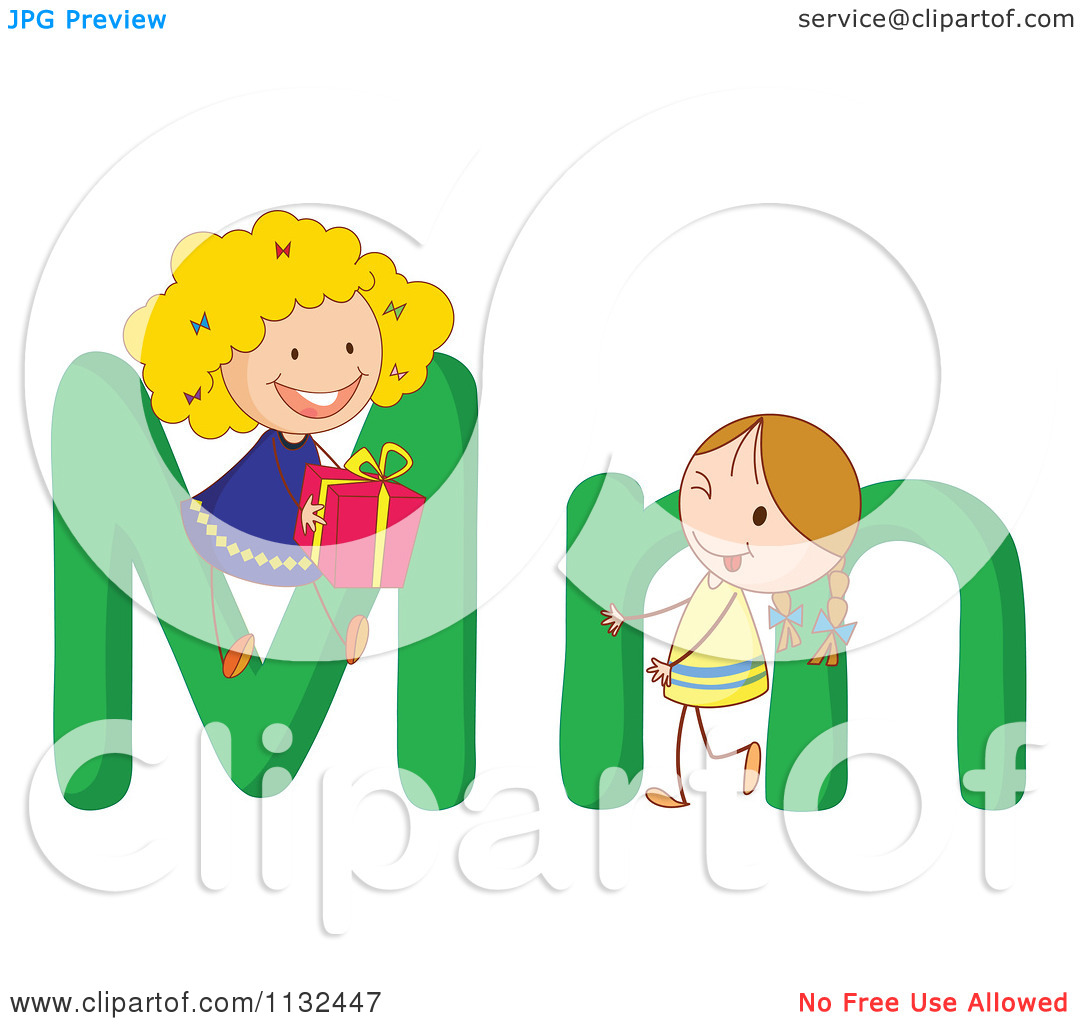 Clipart alphabet letters for kids graphic royalty free Clipart kids letters - ClipartFest graphic royalty free