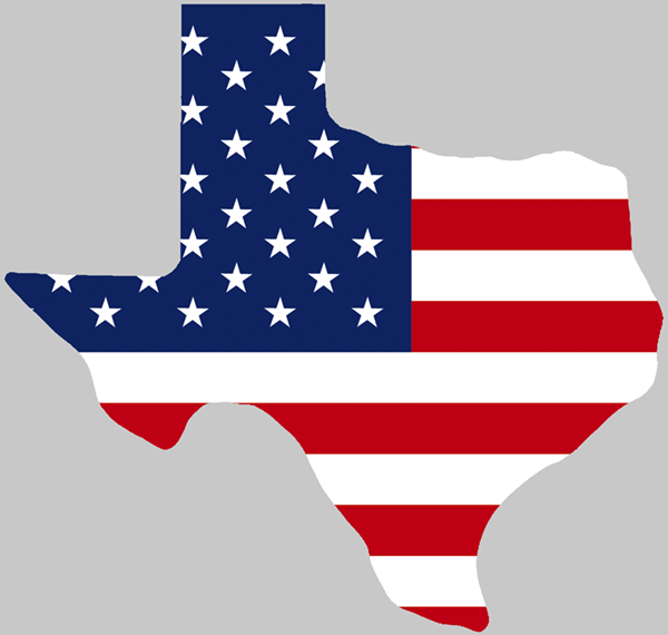 Clipart american flag in the shape of usa royalty free Texas Shaped USA Flag | State of Texas in 2019 | Flag, Texas homes ... royalty free