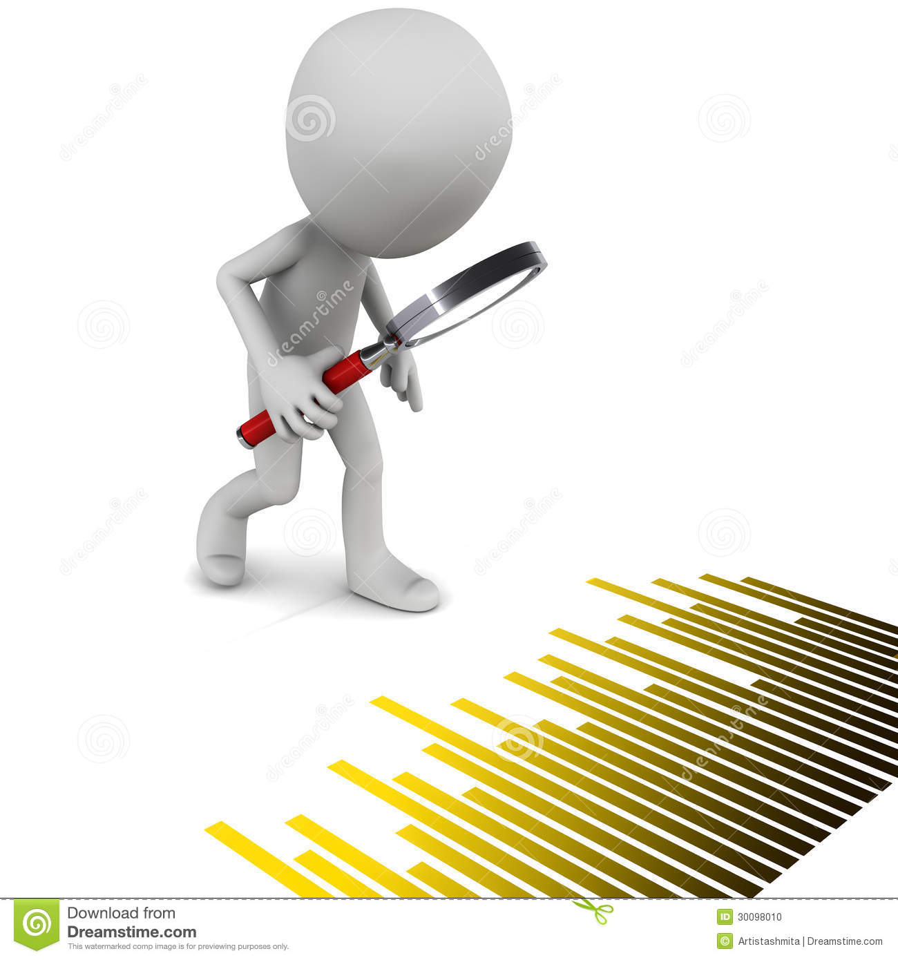 Clipart analyzing data banner black and white stock Little 3d man analyzing data | Clipart Panda - Free Clipart Images banner black and white stock