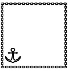 Clipart anchor border clip art freeuse stock Chain Anchor Border Vector Images (45) clip art freeuse stock