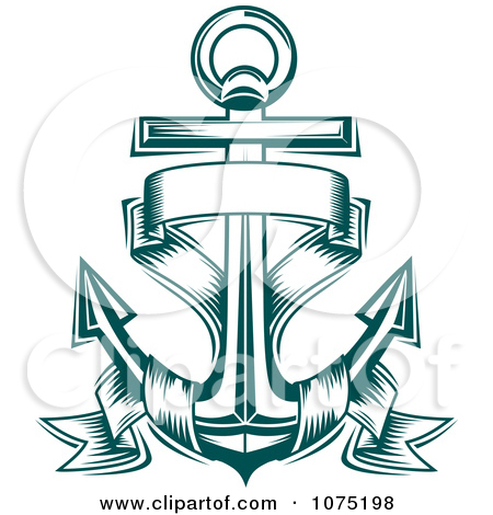 Clipart anchor logo png black and white download Royalty-Free (RF) Anchor Logo Clipart, Illustrations, Vector ... png black and white download
