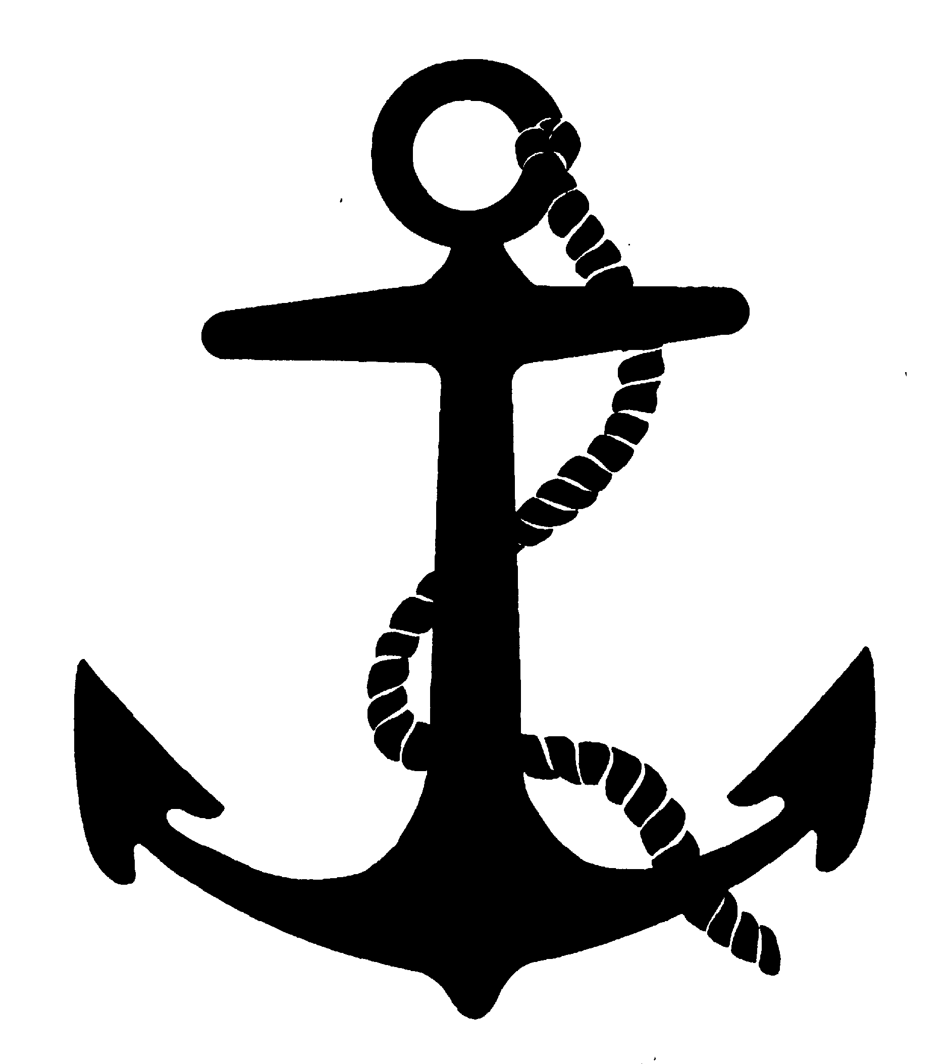 Clipart anchor logo clipart black and white stock Clipart anchor logo - ClipartFest clipart black and white stock
