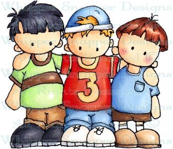 Clipart and sons vector library stock My Three Sons - Children - Rubber Stamps - Shop | w. stamps I want ... vector library stock