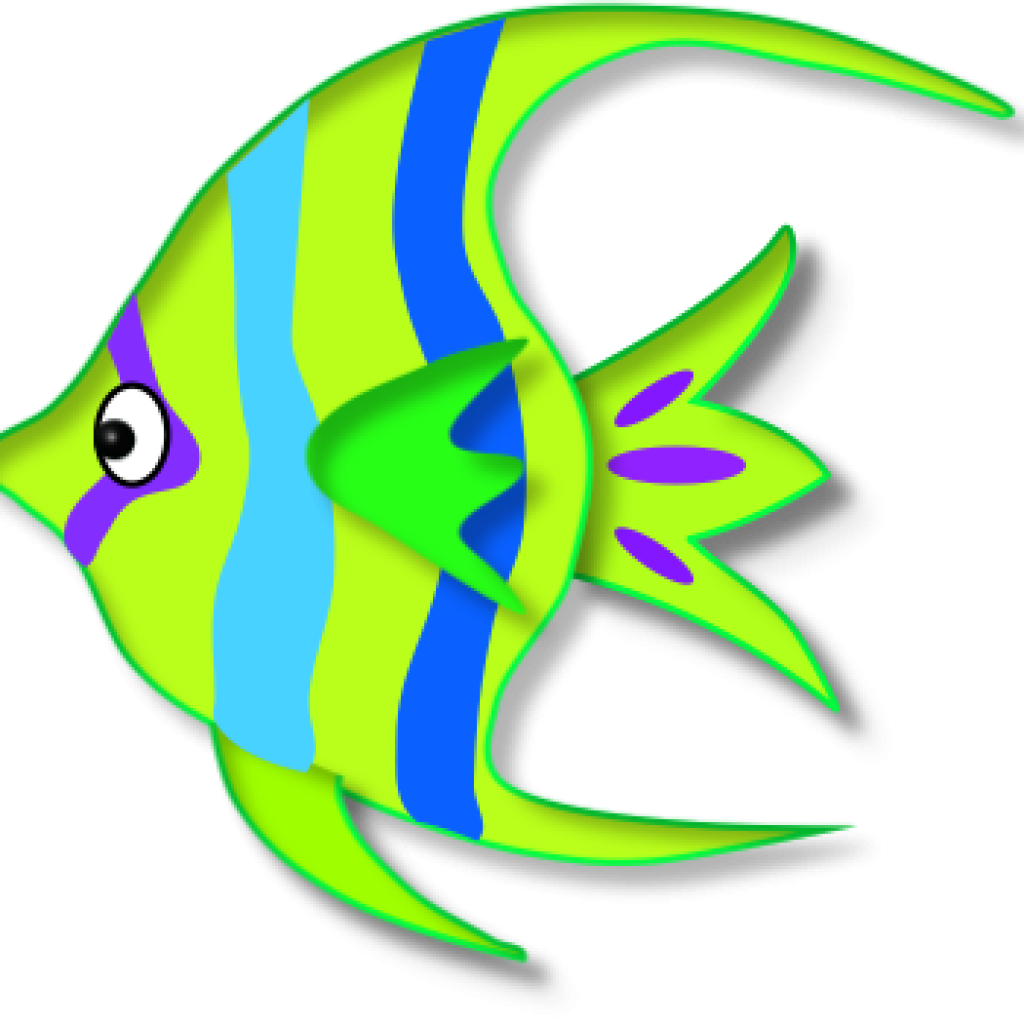 Clipart angel fish image transparent download Colorful Angelfish Clipart - Alternative Clipart Design • image transparent download