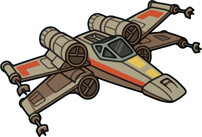 Clipart angel star wars x wing transparent stock 28+ Collection of X Wing Drawing Simple | High quality, free ... transparent stock