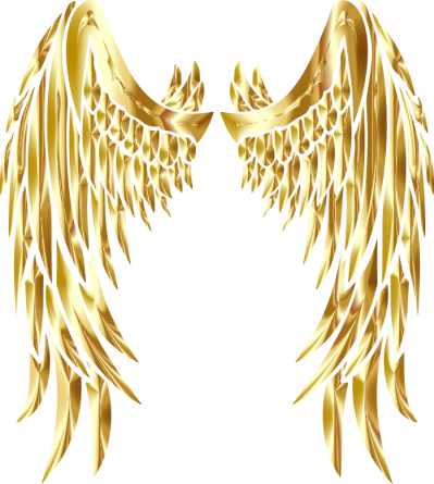 Clipart angel wings gold vector royalty free library Gold PNG - DLPNG.com vector royalty free library