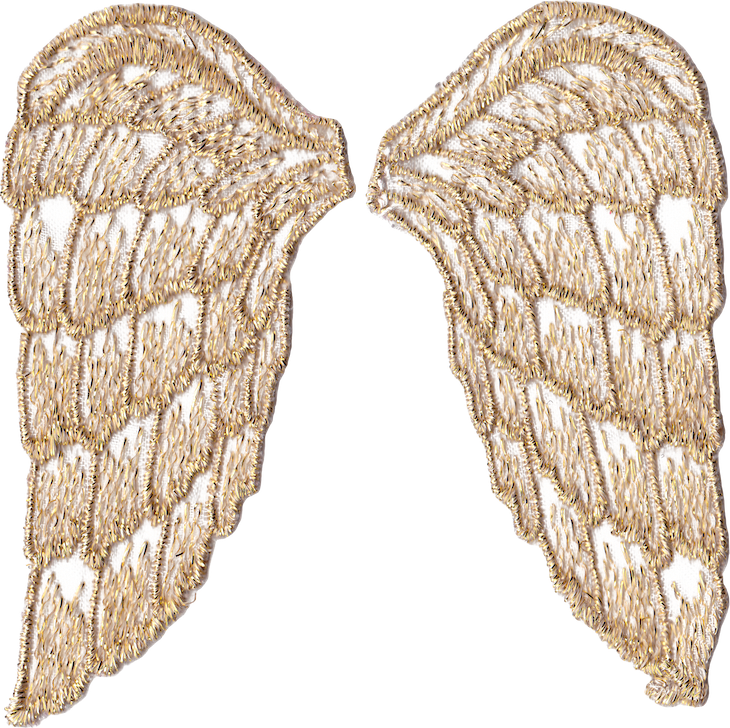 Clipart angel wings gold vector transparent download Golden Angel Wings – free PNG-files and printables | Printables ... vector transparent download