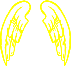 Clipart angel wings gold svg royalty free library Gold.angel.wings.design Clip Art at Clker.com - vector clip art ... svg royalty free library