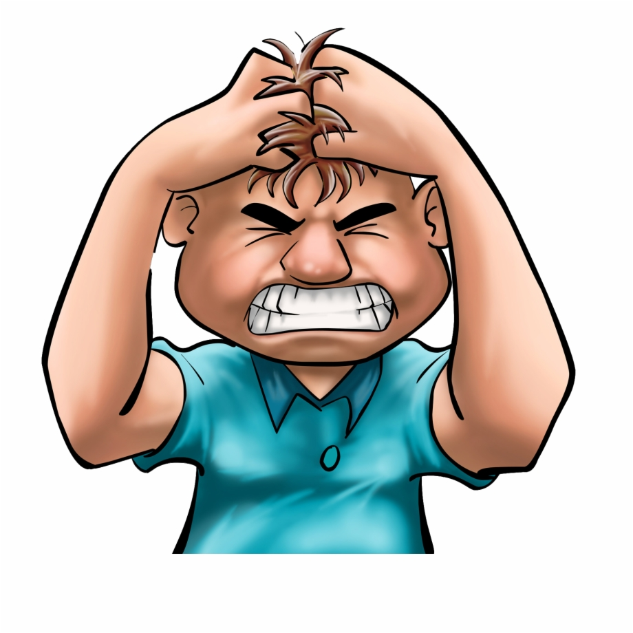 Clipart anger management clip library stock Anger Management - Stressed Transparent Free PNG Images & Clipart ... clip library stock