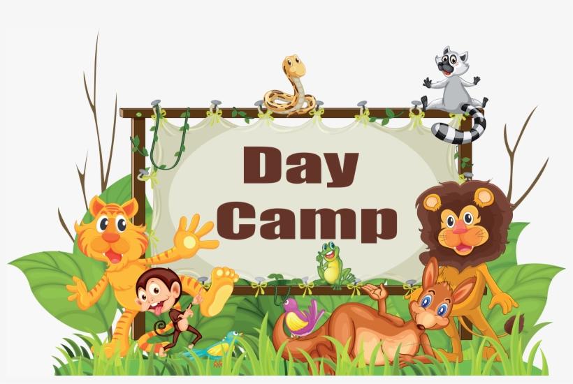 Clipart animal adventure jpg Adventure Clipart Scout Camping - Animal Wall Mural- Frame Fun ... jpg