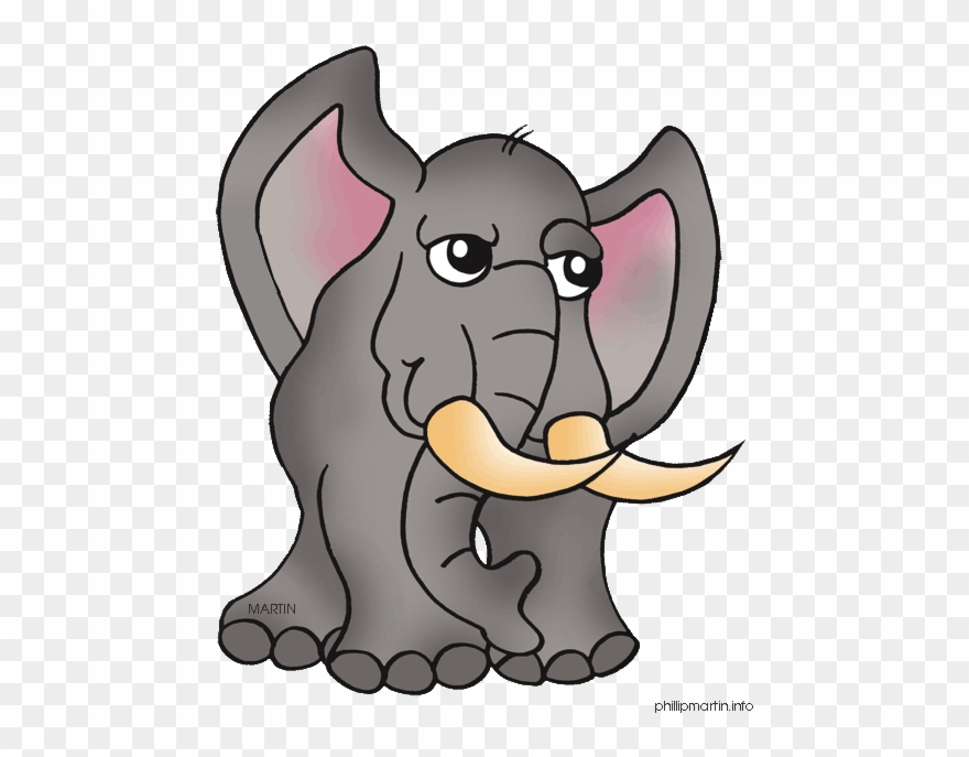 Clipart animal martin png download Elephant - Phillip Martin Clipart Animals - Png Download (#1244295 ... png download
