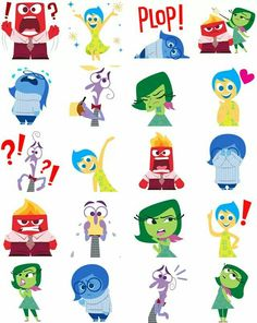 Clipart animated character icon inside out picture free Patch   Disney, Is 1 and Disney characters picture free